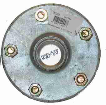 (182226) Galvanized Lazy Hub to suit HQ wheels fitted with