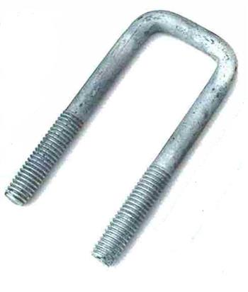(702450) Square Galvanized U-Bolt  100mm I.D x 125mm
