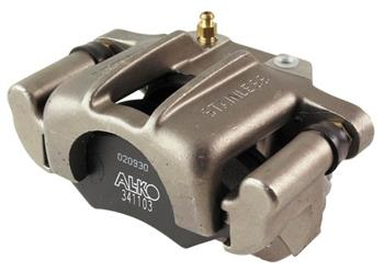 (182306) ALKO Stainless Steel Hydraulic Brake Calipers x 2