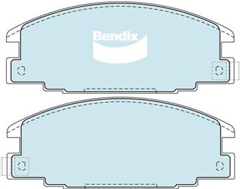 (591116) Bendix Prima Organo Disc Pad Set DB1116