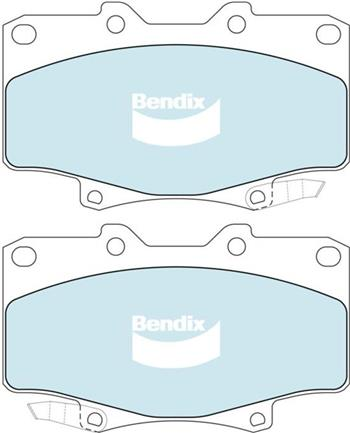 (591199) Bendix Prima Organo Disc Pad Set DB1199