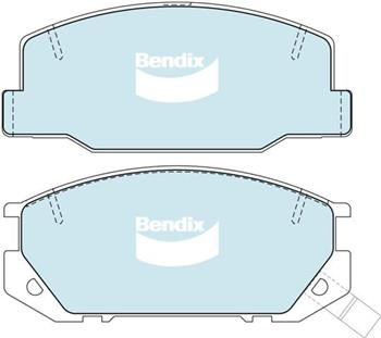 (591208) Bendix Prima Organo Disc Pad Set DB1208