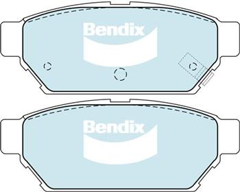 (591278) Bendix Prima Organo Disc Pad Set DB1278