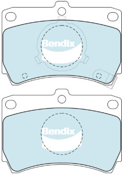 (590406) Bendix Prima Organo Disc Pad Set DB406
